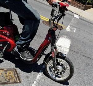 малък мотоциклет