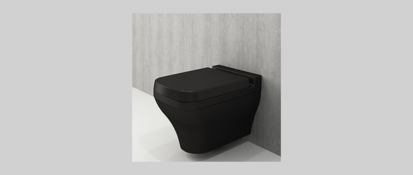 Черни мебели за баня от Gaudi